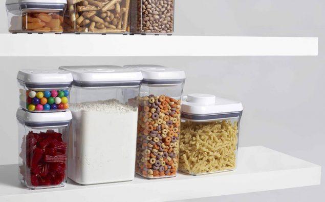מיכלי אחסון מעוצבים לשדרוג המטבח בבית