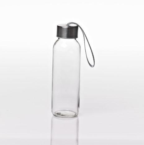 """בקבוק שתייה זכוכית אישי גלאס לוק 240 מ""""ל"""