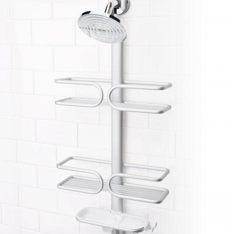 מתלה לאמבטיה/מקלחת 3 קומות אלומיניום OXO